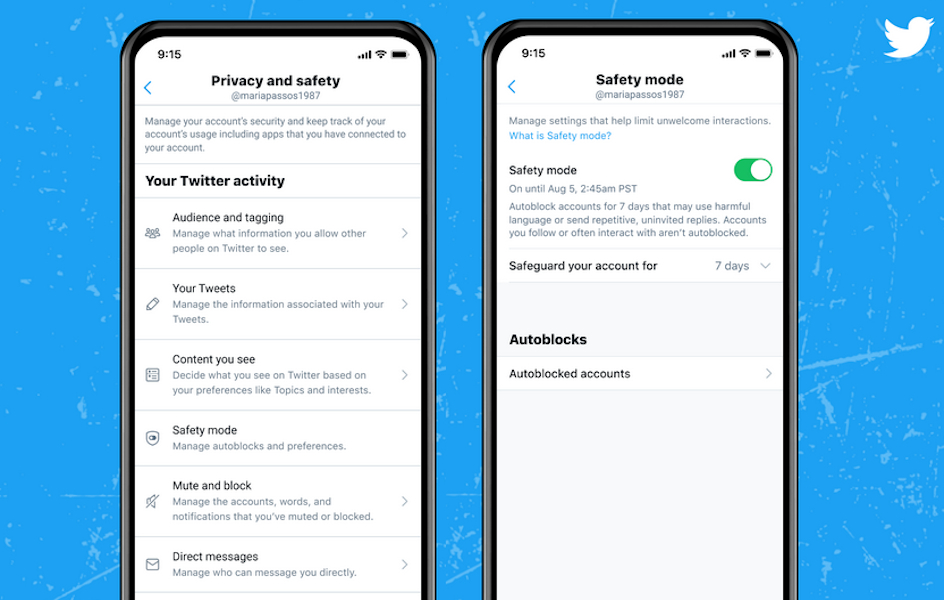Twitter Safety mode Septiembre 2021