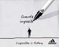 Adidas. Entradilla. Impossible is nothing. Premios 2007 on line mes abril